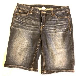 EUC Bermuda jean shorts